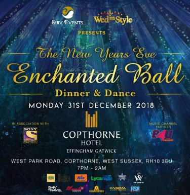 New Years Eve – Enchanted Ball – Dinner and Dance – Copthorne Effingham Gatwick Hotel